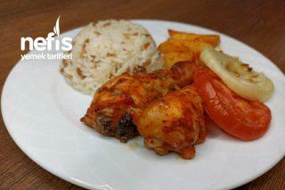 Fırında Nefis Patatesli Tavuk Yemeği (Videolu) Tarifi