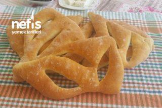 Fougasse Bread (Yassı Fransız Kır Ekmeği) Tarifi