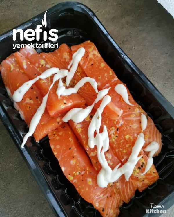 Kızartılmış Somon Balığı