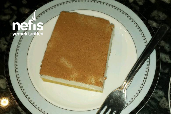 Sütlü ve Portakalı Muhallebi Tarifi
