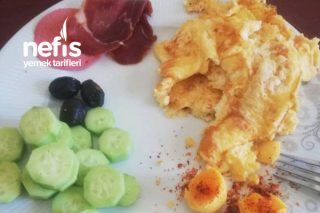 Diyet Kahvaltı Tabağı 2 Tarifi