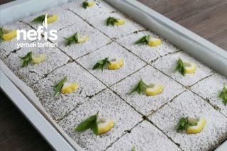 Şerbetli Tatlı Kıvamında Ispanaklı Kek Tarifi