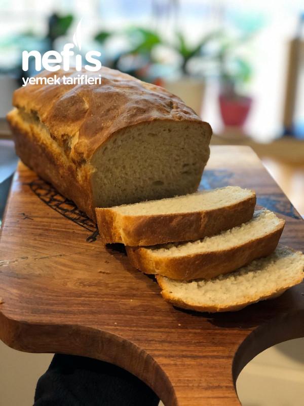 Yumuşacık Ev Yapımı Tost Ekmeği