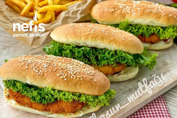 Chicken Royal (Tavuk Burger) Dışarda Yemeye Son