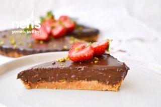 Pişmeyen Çikolatalı Pratik Tart Tarifi