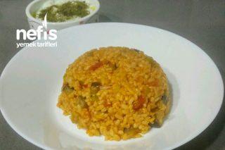 Pratik Patlıcanlı Pilav Tarifi