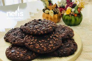 Bol Çikolatalı Cookies Kurabiye Tarifi