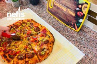 Bol Malzemos Evde Dominos Pizza (Videolu) Tarifi