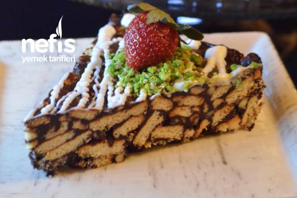 En Pratiğinden Leziz Mozaik Pasta Tarifi
