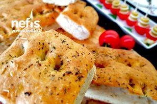 Geleneksel İtalyan Focaccia Ekmeği Tarifi