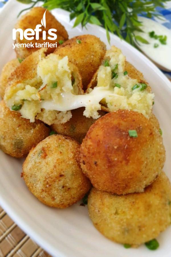 Kaşarlı Patates Topları