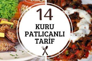 Kuru Patlıcan ile 14 Efsane Lezzet Tarifi
