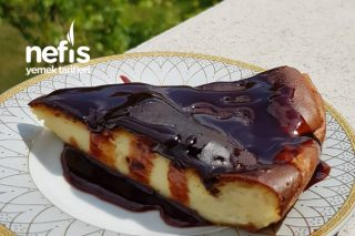 4 Malzemeli Çok Ucuz Cheesecake Üstelik Pratik Tarifi