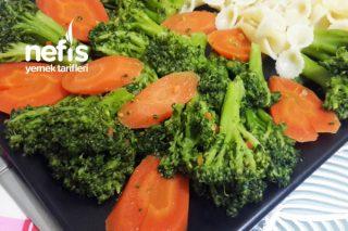 5 Dakikada Sağlıklı Enfes Bir Lezzet! Havuçlu Brokoli Sote (VİDEOLU) Tarifi