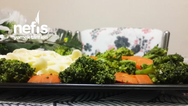 5 Dakikada Sağlıklı Enfes Bir Lezzet! Havuçlu Brokoli Sote