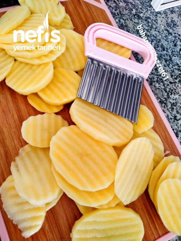 Basamel Soslu Kıymalı Patates pratik Nefis