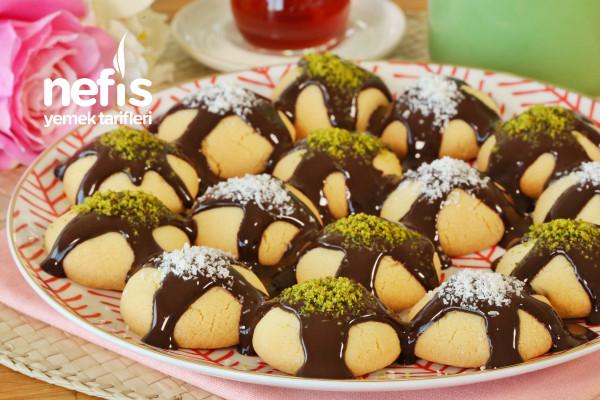 Çikolata Soslu Kurabiye Tarifi (videolu)