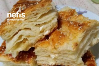 El Açması Kat Kat Peynirli Börek Tarifi