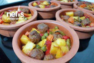 Güveçte Köfteli Orman Kebabı (Videolu) Tarifi