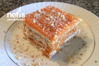Havuçlu Bisküvili Pasta Tarifi