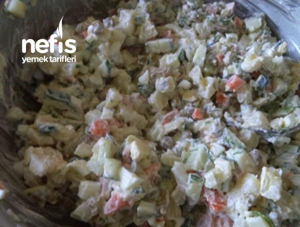 Klasik Rus Salatası