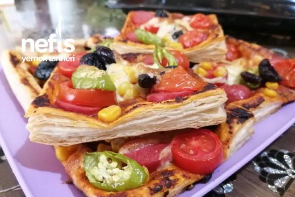 Pratik Milföy Pizza Tarifi