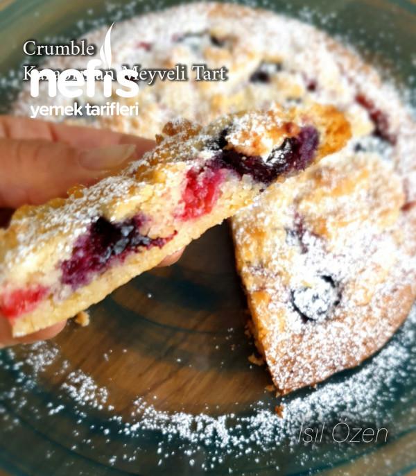 Çıtır Crumble/tart (Karaorman Meyveli/yaban Mersini Ve Ahududu)
