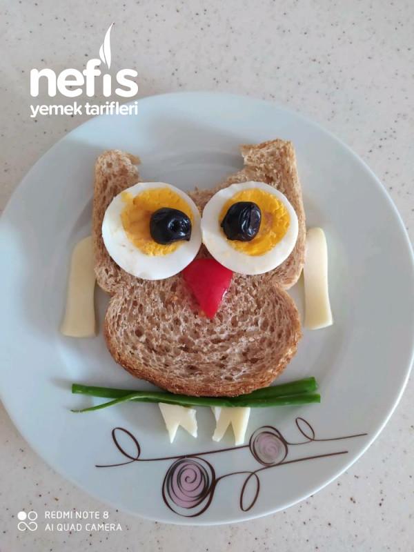 Çocuklarımız İçin Eğlenceli Kahvaltı Baykuş Amca