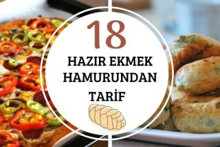 Ekmek Hamuruyla Puf Puf 18 Tarif Tarifi