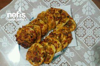 Patlıcanlı Mini Pizza Tarifi