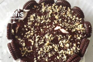 Pratik Dondurmalı Brownieli Pasta Tarifi
