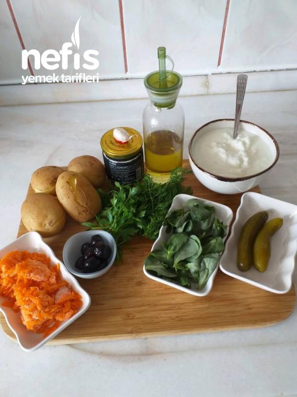 Semizotlu Patates Salatası