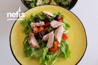 Sıcak Hindi Fümeli Salatası (Videolu) Tarifi