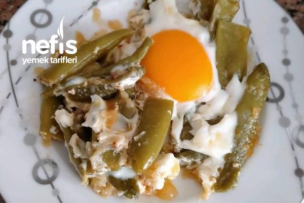 Yumurtalı Taze Fasülye Tarifi