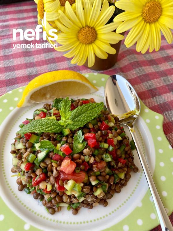 Beluga Mercimeği Salatası