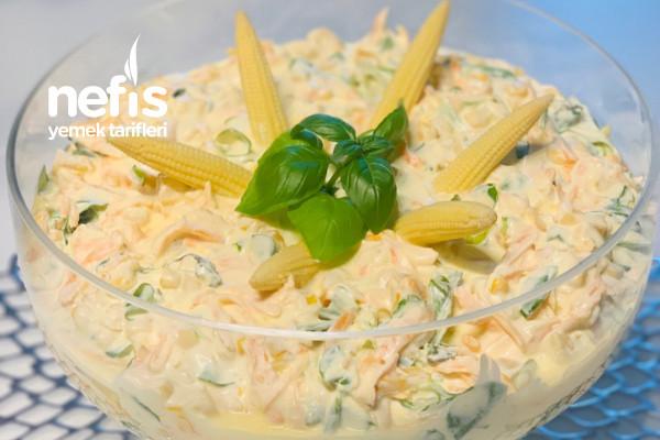 Havuçlu Semizotu Salatası Tarifi