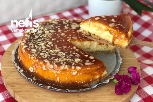 Karemelli Cheesecake Tarifi