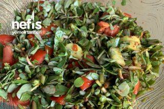 Pirpirim Salatası (Semizotu) Tarifi