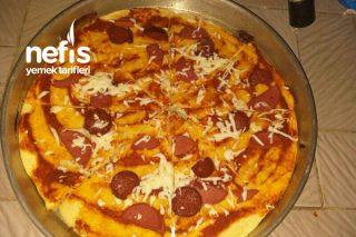 Sadece 5 Malzeme İle Pizza Tarifi