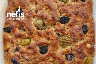 Siyez Unlu İtalyan Ekmeği (Focaccia) Tarifi