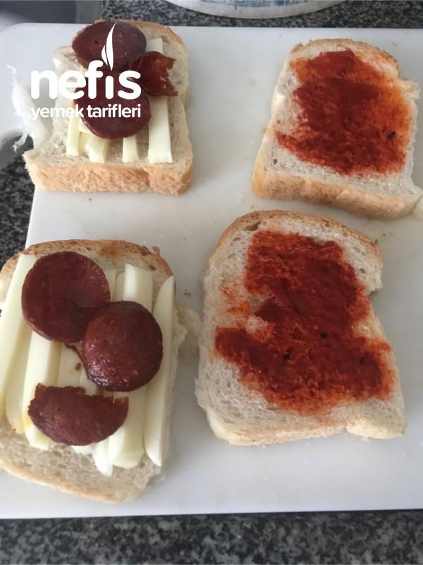 Yumurtalı Karışık Tost