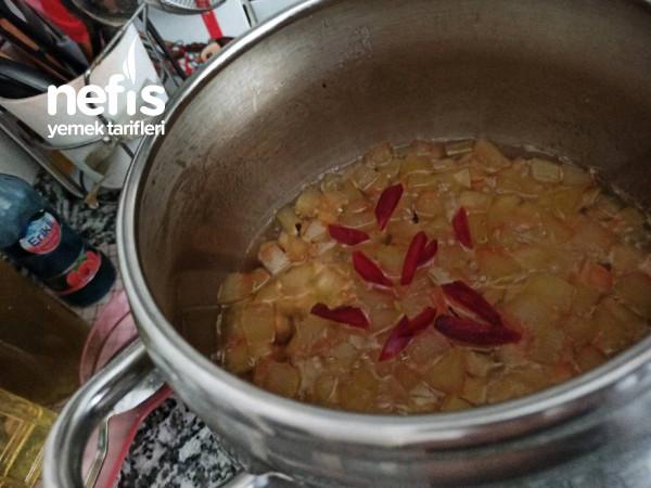 Çıtır Çıtır Karpuz Kabuğu Reçeli (Kabak Tatlısı Tadında)