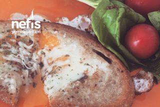 Ekmek Yuvasında Yumurta Tarifi