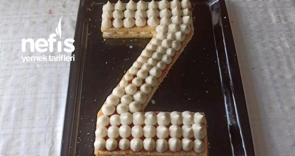 Harf Pasta Tarifi (Kek İle)