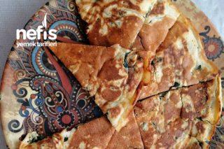 Ispanaklı Peynirli Krep Tarifi