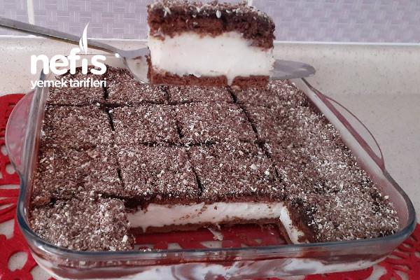 Kolay Borcam Pastası (Videolu) Tarifi