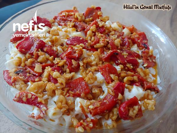 Cevizli Biberli Enfes Makarna Salatası