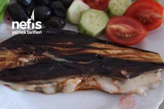 Sucuklu Patlıcan Tostu (Diyettekiler Özellikle) Tarifi