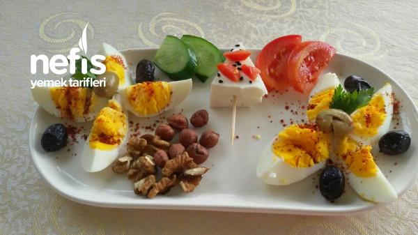 Diyete Uygun Sağlıklı Kahvaltim