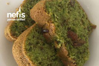 Ispanaklı Cevizli Kek(Yeşil Kek) Tarifi